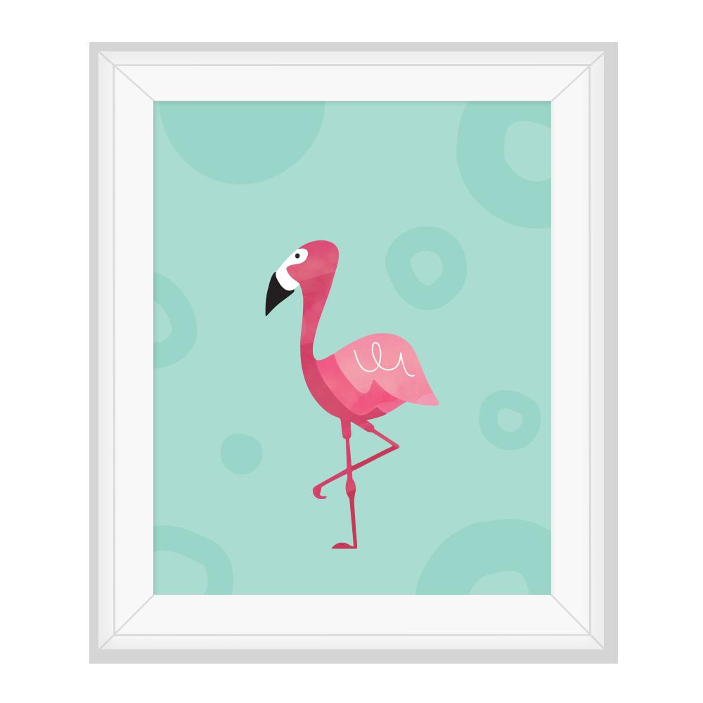 FlamingoPrint_1_NoBG